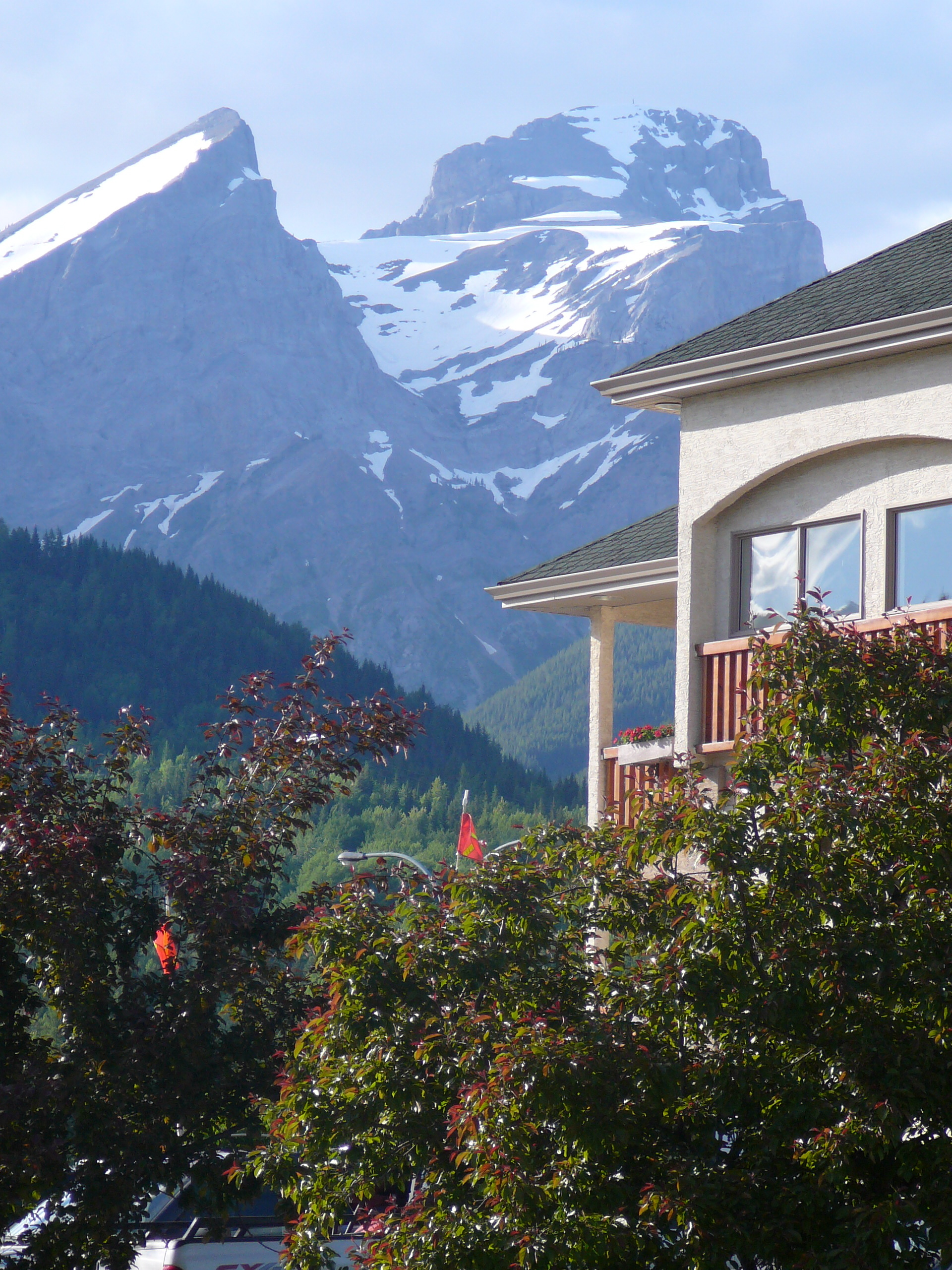 My hotel (Park Place Lodge) in Fernie